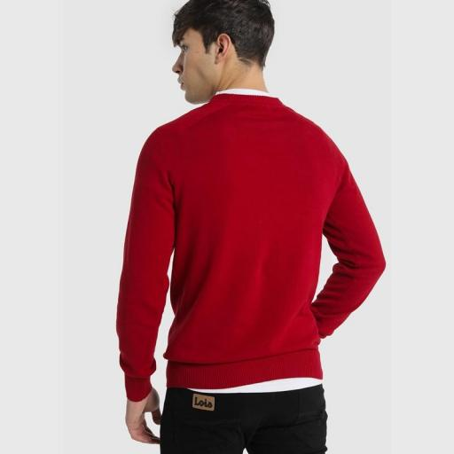 Lois Jeans Jersey Sapel Corfú Rojo-Granate 117709 [1]