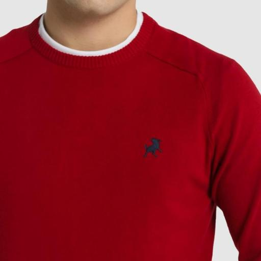Lois Jeans Jersey Sapel Corfú Rojo-Granate 117709 [2]