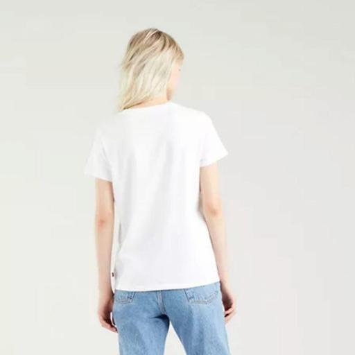 Levi's® The Perfect Tee Vanessa Floral White 17369 1635. Camiseta mujer [1]