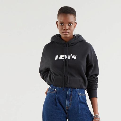 Levi's Standard Hoodie-New Logo Li Caviar 18487-0004. Sudadera mujer [3]