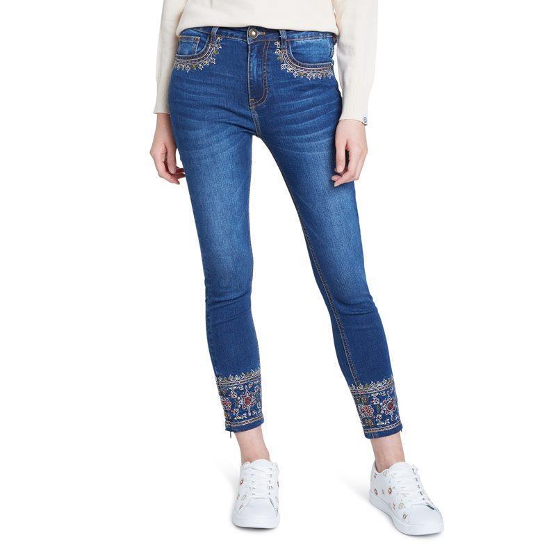 Desigual Pantalón Denim Rous 20WWDD55 / 5008