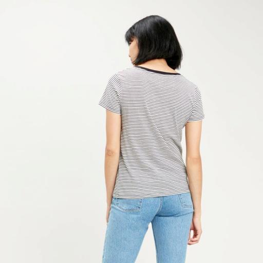 Levi's Perfect Vneck 85341 0004. Camiseta mujer [2]