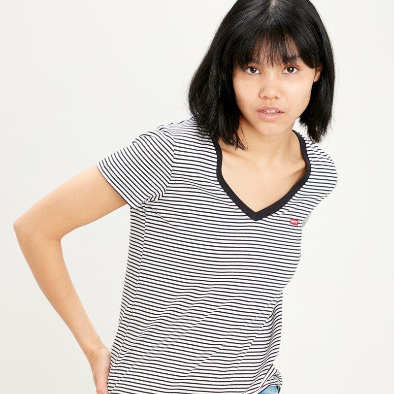 Levi's Perfect Vneck 85341 0004. Camiseta mujer