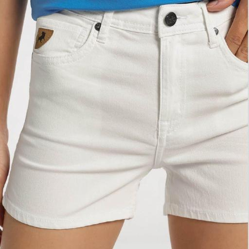 Lois Jeans Short Vaquero blanco Diana Master 122118 [2]