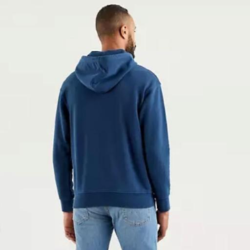 Levi's Relaxed Graphic Hoodie Dress Blues 38479-0026. Sudadera hombre [2]