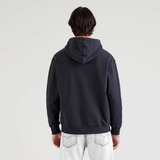 Levi's Relaxed Graphic Hoodie Caviar-Black 38479-0039. Sudadera hombre [1]