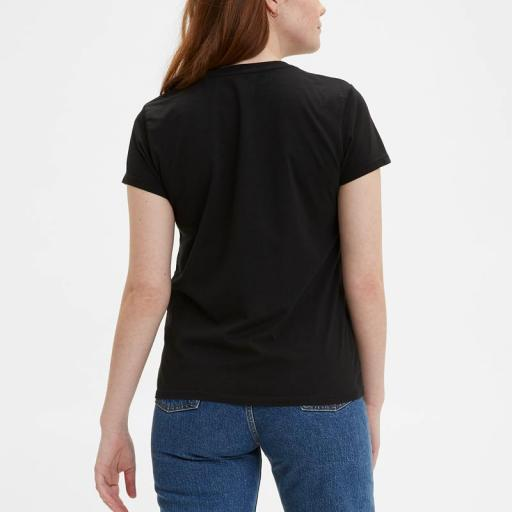 Levi's® Perfect Tee Mineral Black 39185-0008. Camiseta mujer [1]