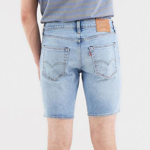 Levi's 412 Slim Shorts Whenever Wherever 39387-0019. Vaquero corto hombre [1]
