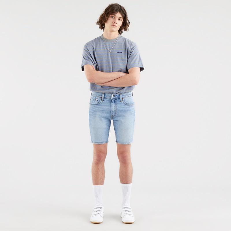 Levi's 412 Slim Shorts Whenever Wherever 39387-0019. Vaquero corto hombre