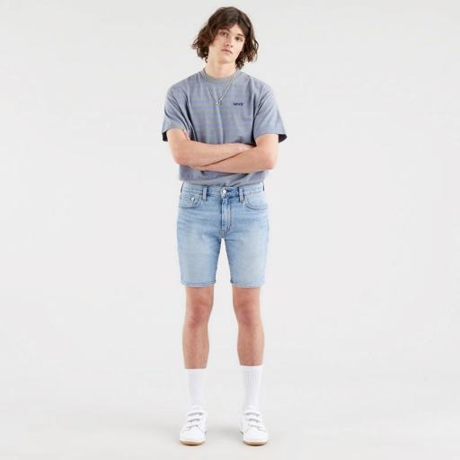 Levi's 412 Slim Shorts Whenever Wherever 39387-0019. Vaquero corto hombre [0]