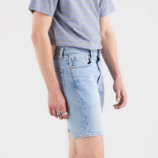 Levi's 412 Slim Shorts Whenever Wherever 39387-0019. Vaquero corto hombre [2]