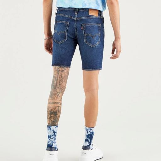 Levi's 412 Slim Shorts 39387 0021. Vaquero corto hombre