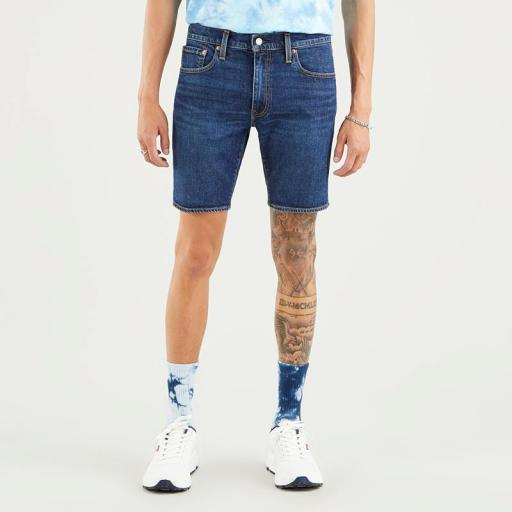 Levi's 412 Slim Shorts 39387 0021. Vaquero corto hombre [1]