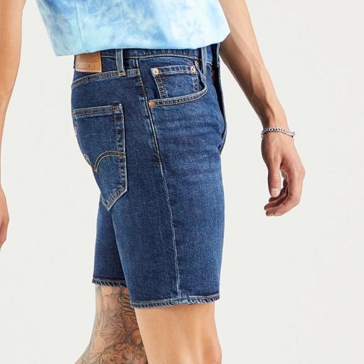 Levi's 412 Slim Shorts 39387 0021. Vaquero corto hombre [3]