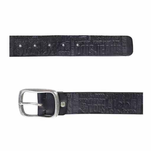Lois Jeans Cinturón Unisex 49810-01 [1]