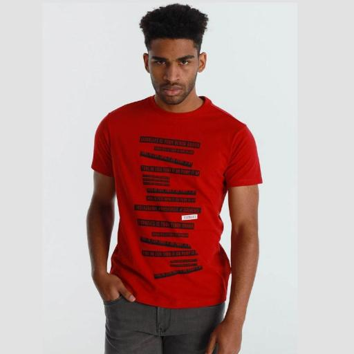Six Valves Camiseta Brand Roja 120504