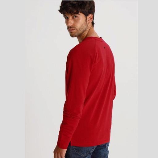 Six Valves Camiseta Manga Larga Roja Denmark 119905 [2]