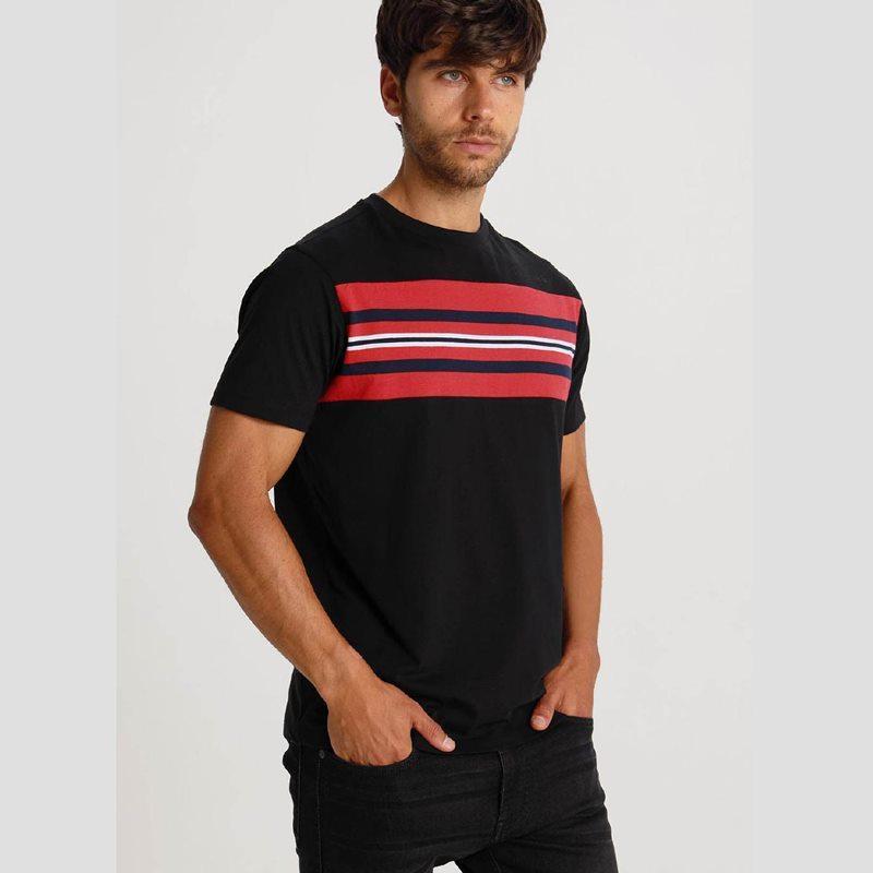 Six Valves Camiseta combinada 119807