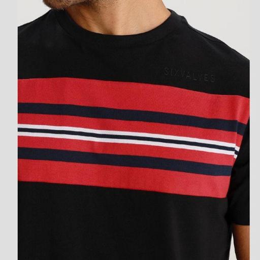 Six Valves Camiseta combinada 119807 [2]