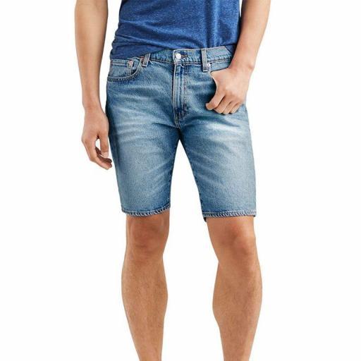 Levi´s 502 Taper Hemmed Short. Pantalón corto 32792 0038 [3]