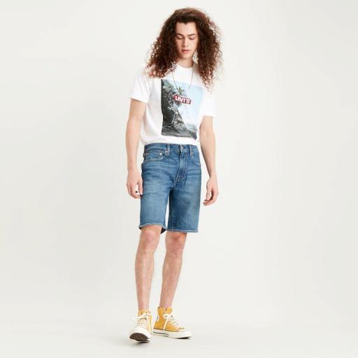 Levi´s 502 Taper Short Panettone short 32792-0062.Pantalón corto hombre