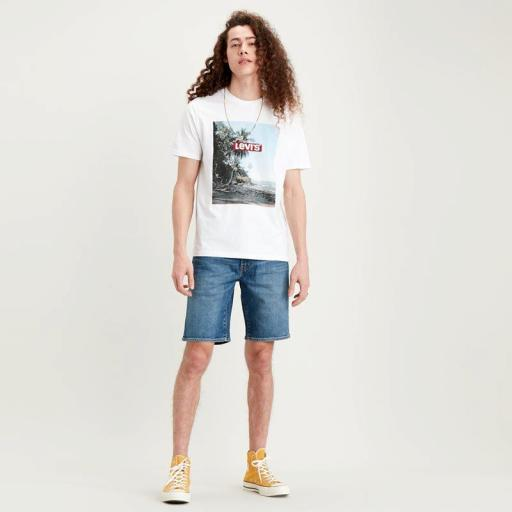 Levi´s 502 Taper Short Panettone short 32792-0062.Pantalón corto hombre [2]