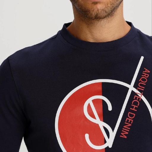 Six Valves Camiseta Structure 119907 [2]
