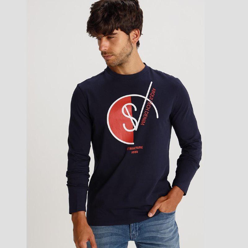 Six Valves Camiseta Structure 119907