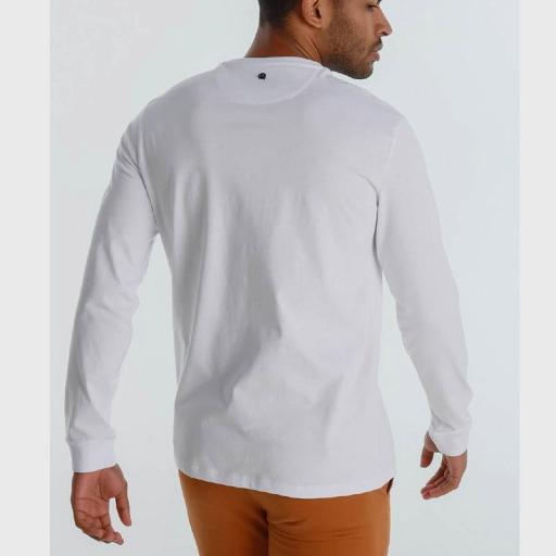 Six Valves Camiseta hombre Distrik blanca 120526 [1]