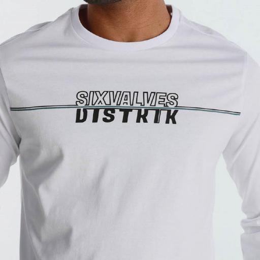 Six Valves Camiseta hombre Distrik blanca 120526 [2]