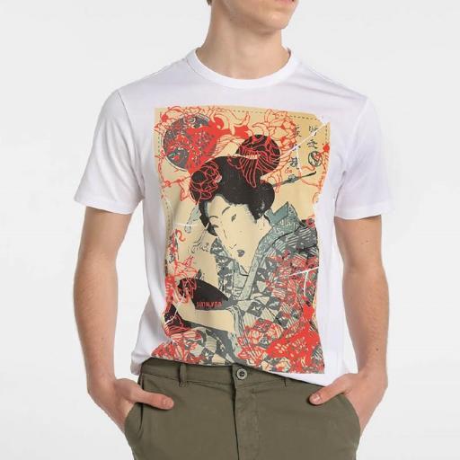 Six Valves Camiseta Geisha