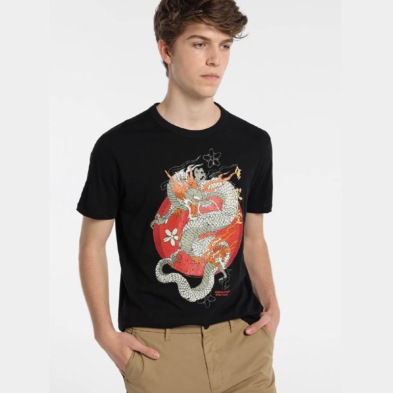 Six Valves Camiseta Dragón