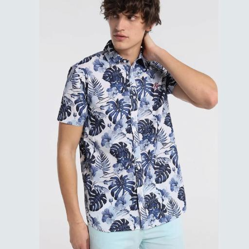 Six Valves Camisa Prit Tropical