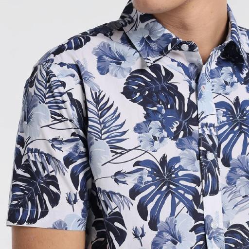 Six Valves Camisa Prit Tropical  [2]