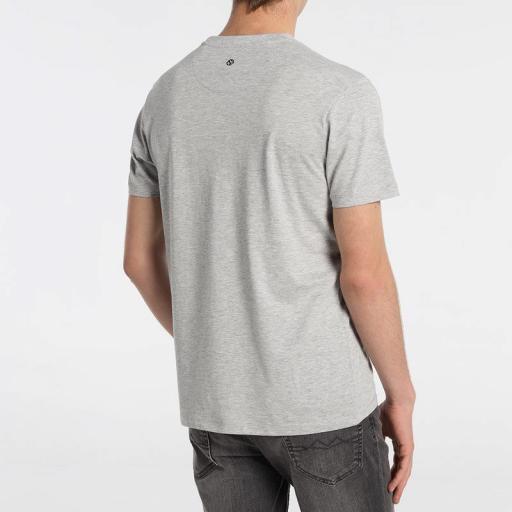 Six valves Camiseta Tropical gris 121847 [2]