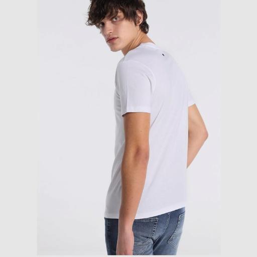 Six Valves Camiseta Logo Blanca 121215 [1]