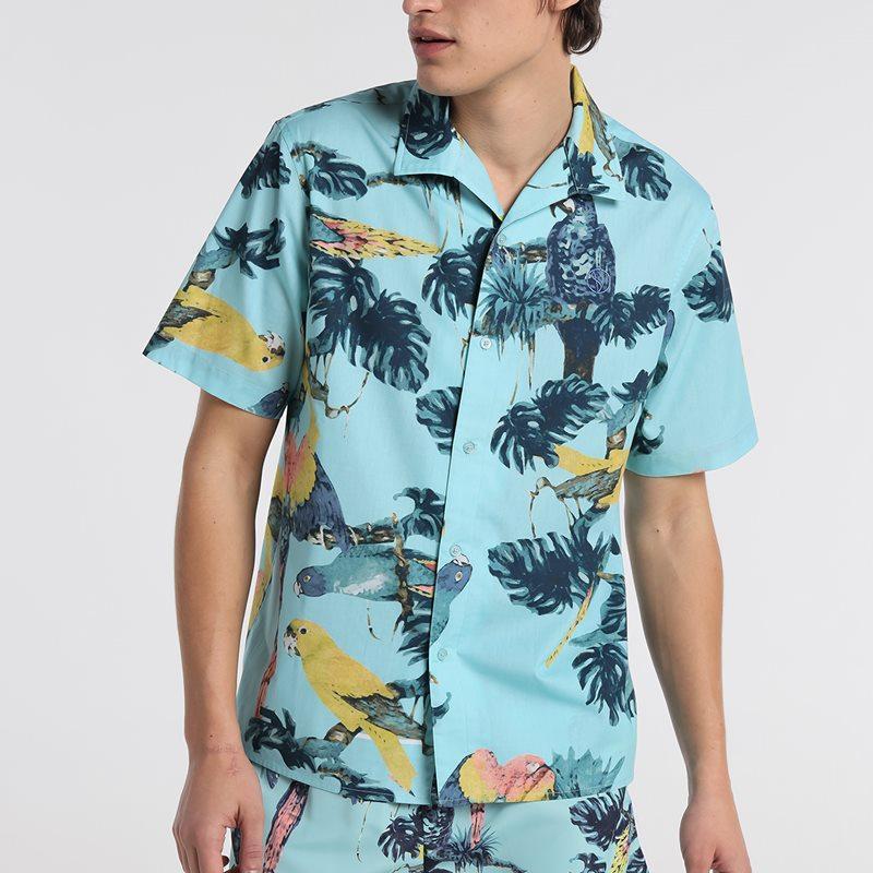 Six Valves Camisa Print Tropical 5092 226 111