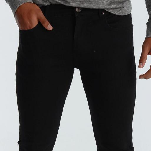 Six Valves Pantalón Denim Super Skinny negro 5100 667 999 [3]