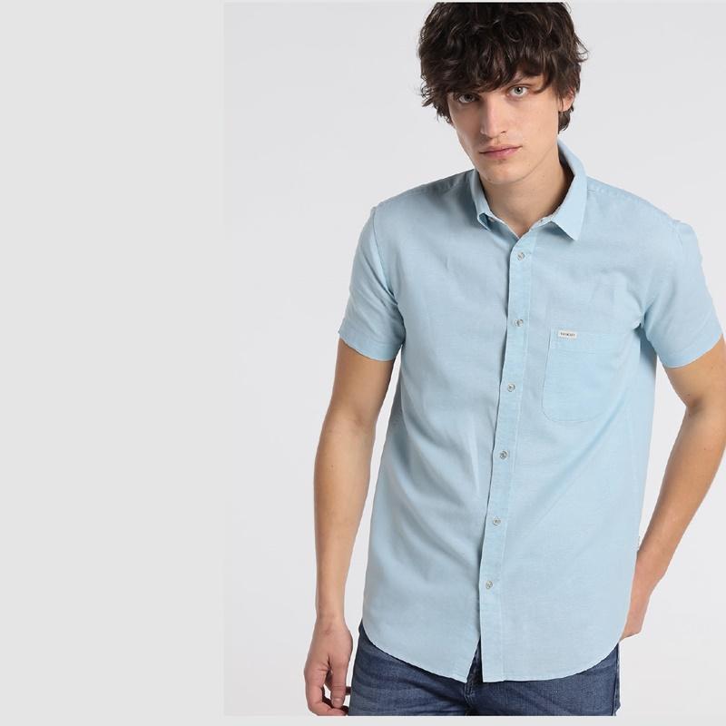 Six Valves Camisa hombre Line 120997