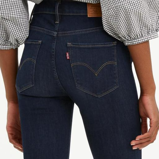 Levi's ® 720 High Rise Superskinny Jeans Deep Serenity 52797-0176. Vaquero mujer [2]