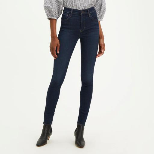 Levi's ® 720 High Rise Superskinny Jeans Deep Serenity 52797-0176. Vaquero mujer [1]