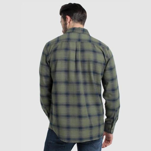 Six Valves Camisa Cuadros 116673 [1]