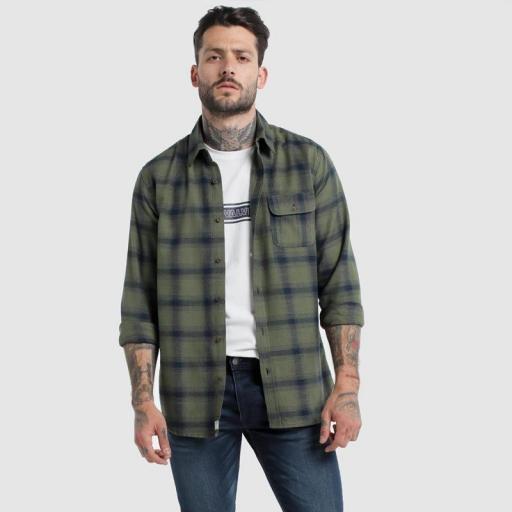 Six Valves Camisa Cuadros 116673 [2]