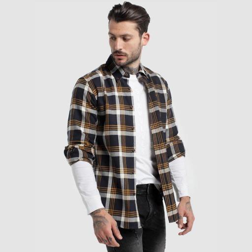 Six Valves Camisa Cuadros 116674