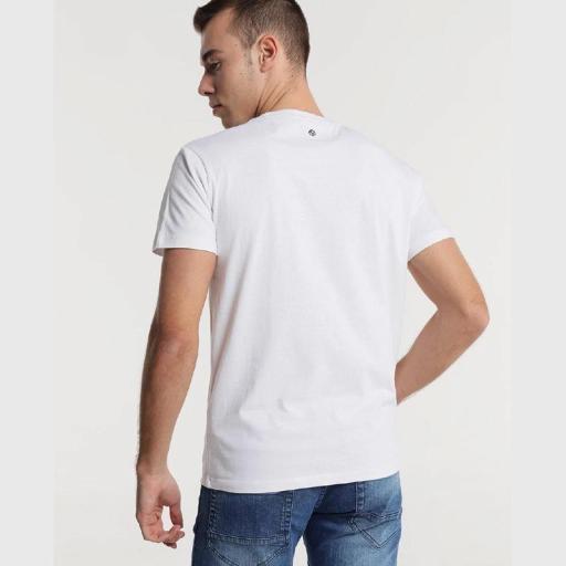Six Valves Camiseta Fluor Blanca  [2]