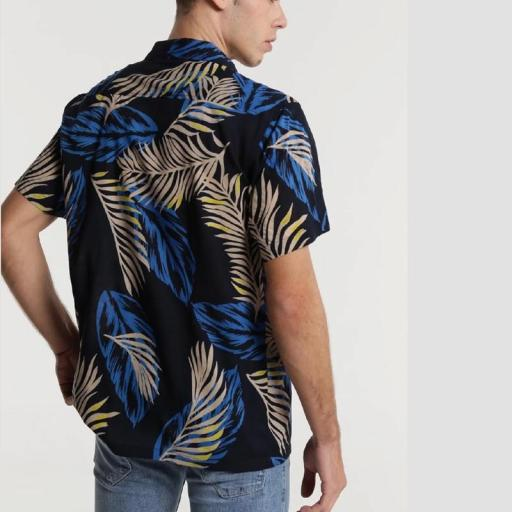 Six Valves Camisa Print Hojas 118355 [1]