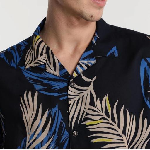 Six Valves Camisa Print Hojas 118355 [2]