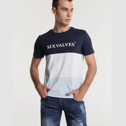Six Valves Camiseta Bloques 117992