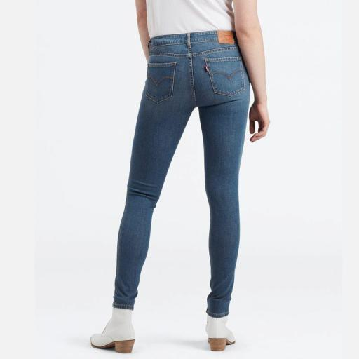 Levi´s 711 Skinny Jeans Believe it or not 18881 0411. Vaquero mujer
