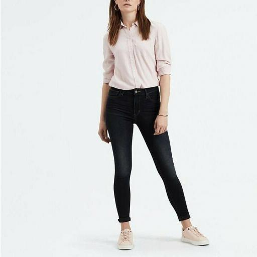 Levi's 720 High Rise Super Skinny Jeans 52797 0094 Vaquero mujer